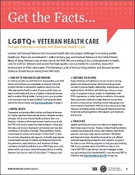 Lesbian and Bisexual Female Health Care Fact Sheet cover(791KB, PDF)