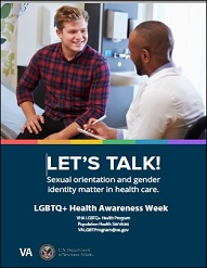 LGBT Health Awareness Week Poster (8.5x11)