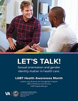 LGBT Health Awareness Month Poster (8.5x11)